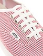 Image 2 of Vans Lo Pro Classic Lace Up Red Stripe Sneakers
