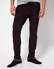 ASOS Black x Puma - Shadow - Jeans skinny