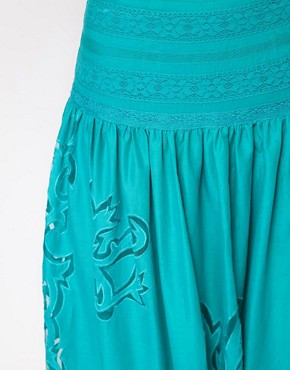 Image 3 ofASOS Maxi Skirt with Cutwork Detail