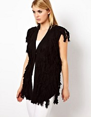 Factory By Erik Hart Fringe Waistcoat