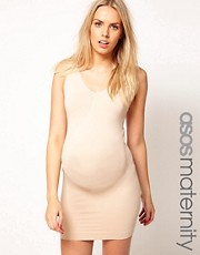 ASOS Maternity Exclusive Seamfree Vest Dress With Support For The Perfect Bump