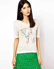 Ostwald Helgason Grey Lion Tee