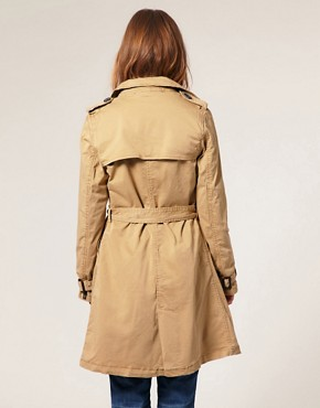 Image 2 ofMaison Scotch Belted Military Trench Coat