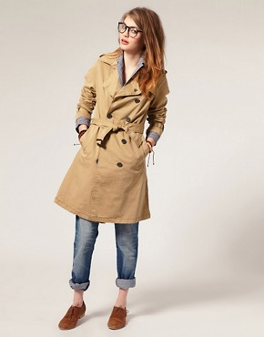 Image 4 ofMaison Scotch Belted Military Trench Coat
