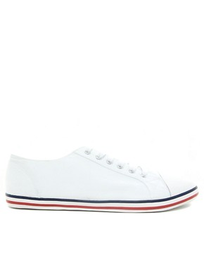 Image 4 ofASOS Plimsolls With Toe Cap