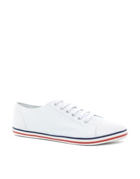 Image 1 ofASOS Plimsolls With Toe Cap