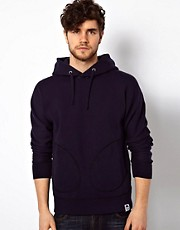 G Star Marc Newson Hooded Sweatshirt Recycle Elbow