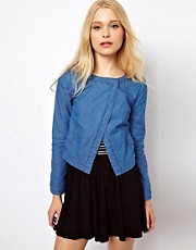 b + ab Chambray Jacket