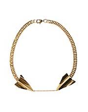 Yasmin By Gogo Philip Necklace With Arrowhead