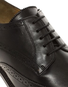 Image 2 ofASOS Brogues With Leather Sole
