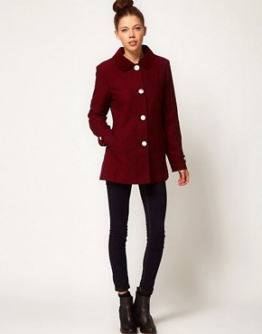 Image 4 ofA Wear Tweed Pea Coat