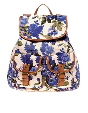 Image 1 ofALDO Menches Floral Backpack