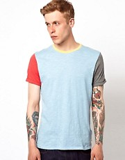 Supremebeing T-Shirt Iso Colourblock