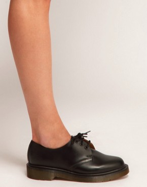 Image 3 ofDr Martens  1461 Classic Black Flat Shoes