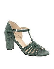 Ganni Cobra Leather Sandal