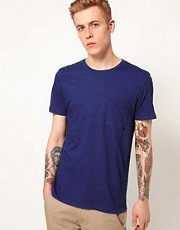WESC T-Shirt Nim Indigo Pocket
