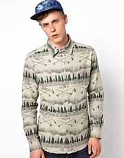 Sitka Shirt With Fish Print