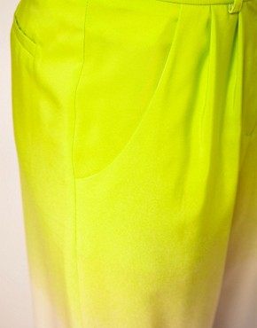 Image 3 ofASOS Ombre Trouser With Elastic Cuff