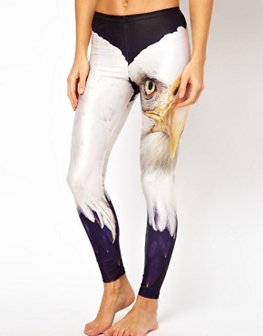 Image 4 ofWe Are Handsome Eagle Print Leggings