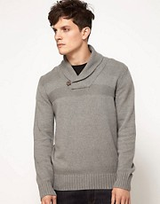 Esprit Shawl Neck Jumper