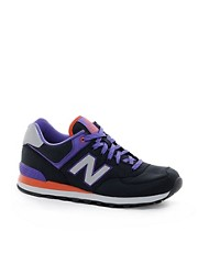 New Balance 574 Windbreaker Trainers