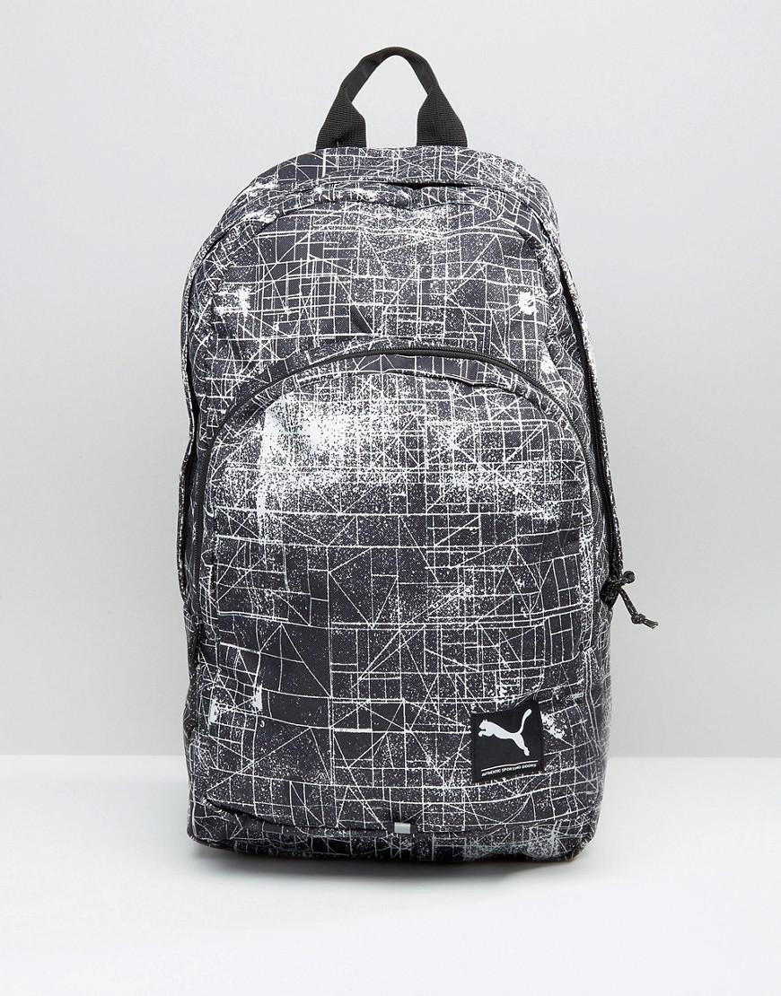 puma-line-print-backpack-grey