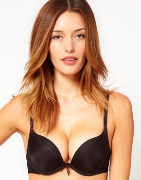 b.tempt&#39;d Double Drama Push Up Bra