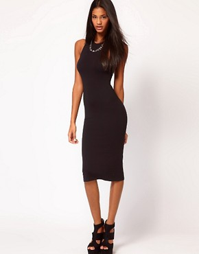 Image 2 ofASOS Midi Dress with Cross Back Strap