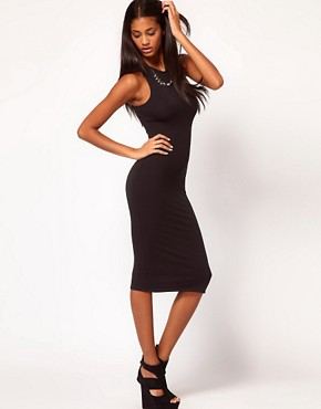 Image 4 ofASOS Midi Dress with Cross Back Strap