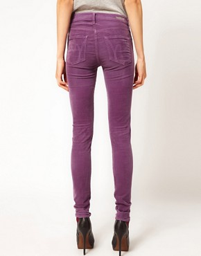 Image 2 ofCitizens of Humanity Avedon Skinny Leg Jeans in Iris Luxury Cord