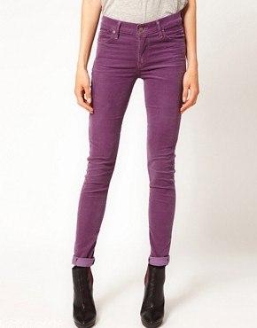 Image 4 ofCitizens of Humanity Avedon Skinny Leg Jeans in Iris Luxury Cord