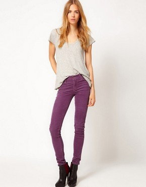 Image 1 ofCitizens of Humanity Avedon Skinny Leg Jeans in Iris Luxury Cord
