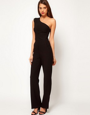 Image 1 ofASOS Jumpsuit With Embellished Shoulder