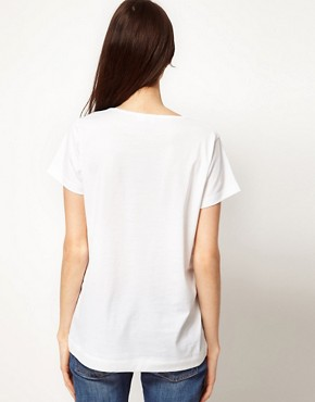 Image 2 ofSunspel Lightweight Jersey Slouchy T-Shirt
