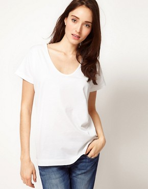 Image 1 ofSunspel Lightweight Jersey Slouchy T-Shirt