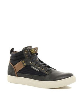 Image 1 ofG-Star Jeddar Warm Handle Hi-Top Trainers
