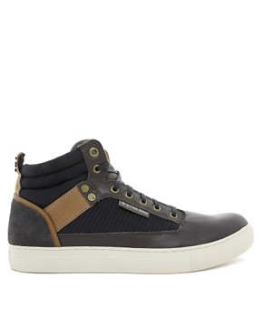 Image 4 ofG-Star Jeddar Warm Handle Hi-Top Trainers