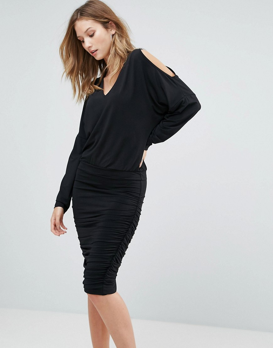 Gestuz Penn Cold Shoulder Shift Dress