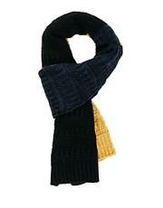 ASOS Scarf With Block Stripe