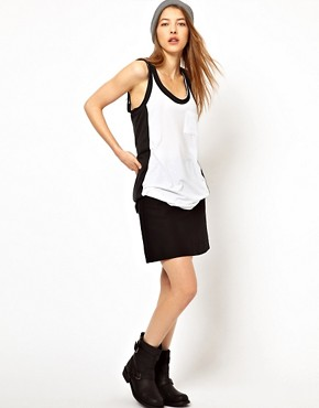 Image 4 ofRag And Bone Colourblock/Pocket Tank