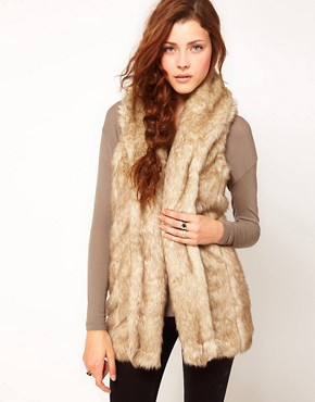 Image 1 ofGlamorous Faux Fur Gilet