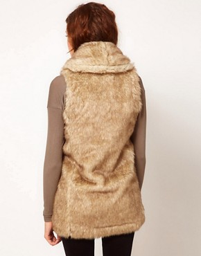 Image 2 ofGlamorous Faux Fur Gilet