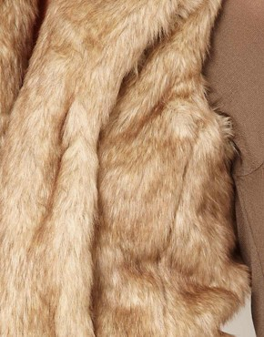 Image 3 ofGlamorous Faux Fur Gilet