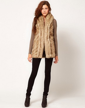 Image 4 ofGlamorous Faux Fur Gilet