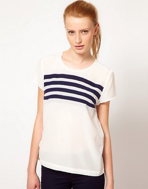 Image 1 ofKookai Stripe Top