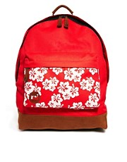 Mi Pac Aloha Print Pocket Backpack