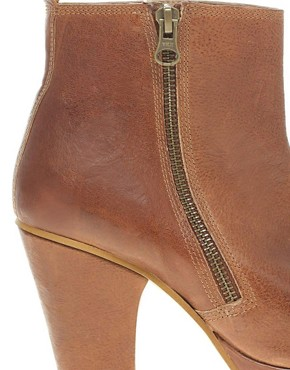 Image 2 ofASOS ALFREDO Platform Boots with Zip
