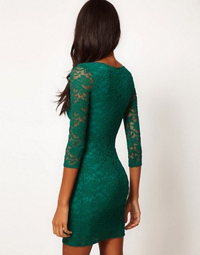Image 2 ofASOS Bodycon Dress in Lace
