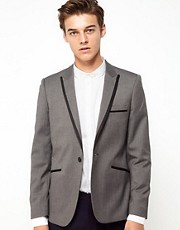 Vito Blazer With Trim Detail