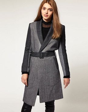 Image 1 ofUnconditional Tweed Dressing Gown Coat